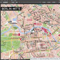 Berlin-Mitte Vektorkarte mit Gebäuden, Vektorkarte Berlin-Mitte, Karte Vektor Berlin-Mitte, Karte Berlin Innenstadt, Karte Berlin Zentrum