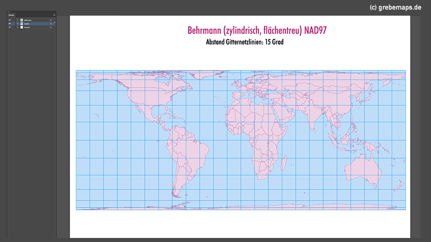 Weltkarte, Karte Welt Vektor, Vektorkarte Welt, Behrmann