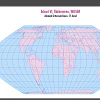 Weltkarte, Karte Welt Vektor, Vektorkarte Welt, Eckart VI