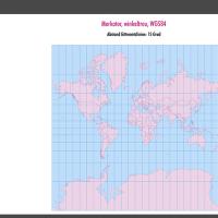 Weltkarte, Karte Welt Vektor, Vektorkarte Welt, Merkator