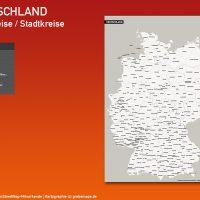 Deutschland PLUS Landkreise Stadtkreise Vektorkarte (2018), Karte Landkreise Deutschland, Deutschland Karte Landkreise, Landkreise Karte Deutschland