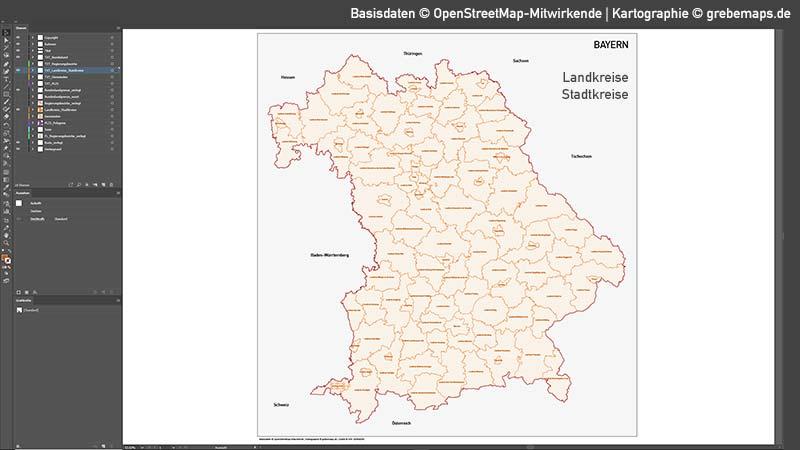 Bayern Vektorkarte Gemeinden Landkreise Regierungsbezirke PLZ-5, Karte Gemeinden und Landkreise Bayern Vektor, Karte Bayern Postleitzahlen PLZ-5 5-stellig, Vektorkarte Bayern Postleitzahlen, Vektorkarte Bayern PLZ, Landkarte Bayern Landkreise, Landkarte Bayern Gemeinden, Landkreise Bayern Karte,