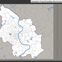 Köln Postleitzahlen-Karte PLZ-5 Vektorkarte, Karte Köln Postleitzahlen, , Karte Köln PLZ, Karte Köln PLZ-5, Karte Köln PLZ 5-stellig, Vektorkarte Köln PLZ, Vektorkarte Köln AI-Datei download