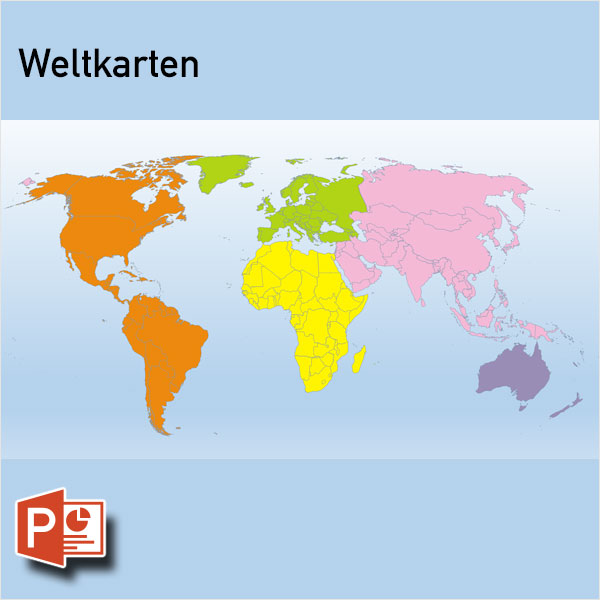 PowerPoint-Karte Welt Weltkarten, Welt PowerPoint-Karten, Weltkarte Gall PowerPoint-Karte, Weltkarte Mollweide PowerPoint-Karte, Weltkarte PowerPoint-Karte, Weltkarte Robinson PowerPoint-Karte