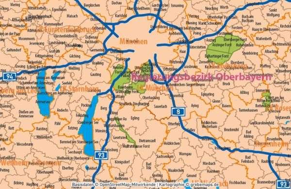 Deutschland Gemeinden Landkreise Bundesländer Autobahnen Vektorkarte, Karte Deutschland Gemeinden, Karte Deutschland Landkreise, Vektorkarte Deutschland Gemeinden, Vektorkarte editierbar Deutschland Gemeinden, Gemeindekarte Deutschland, AI, download, editierbar, ebenen-separiert
