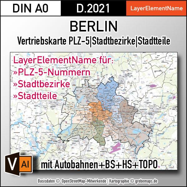 Berlin und Umgebung Vertriebskarte Postleitzahlen PLZ-5 Stadtbezirke Stadtteile Vektorkarte, vector map berlin, plz-karte berlin, karte plz berlin, karte berlin stadtteile, karte berlin vektor, karte berlin für illustrator, stadtplan berlin stadtteile, stadtplan berlin plz, karte berlin ai, vector map berlin, vektorgrafik, vektorkarte, kartengrafik, illustrator ai, editierbar, download